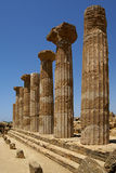 Temple of Ercole, Sicily Royalty Free Stock Photography