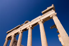 Temple Erechtheum Stock Photo
