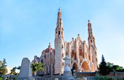 Temple espagnol images stock