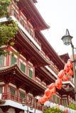 Temple et musée de relique de dent de Bouddha Photo stock