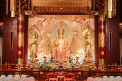 Temple et musée de relique de dent de Bouddha Image libre de droits