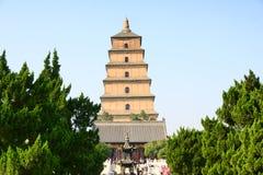 Temple et stupa Image stock