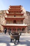 Temple et tombeau Photographie stock libre de droits