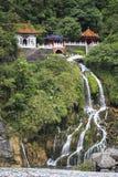 Temple of Eternal Spring. Eternal Spring Shrine (Changchun Shrine), major landmark in Taroko National Park in Taiwan Stock Photos
