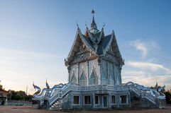 Temple. In the evening at northeast in Thailand Stock Image