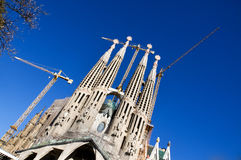 Temple Expiatori de la Sagrada Familia Royalty Free Stock Photography