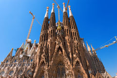 Temple Expiatori de la Sagrada Familia - Barcelona Spain Royalty Free Stock Image