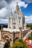 Temple Expiatori del Sagrat Cor Barcelona royalty-vrije stock foto's