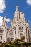 Temple Expiatori del Sagrat Cor in Barcelona, Spanje royalty-vrije stock foto's
