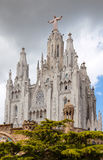 Temple Expiatori del Sagrat Cor   en Barcelona Imágenes de archivo libres de regalías