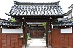 Temple Exterior Stock Photo