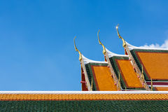 Temple exterior, Wat Pho is one of the oldest and Royalty Free Stock Photography