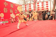 TEMPLE FAIRS in China stock image