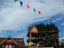 Temple fair. At Loei province in Thailand Stock Images