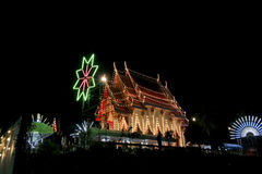 Temple fair sample. In phetchaboon thailand Royalty Free Stock Photography