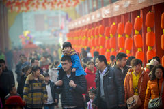Temple fair. In Shanxi China Stock Photo