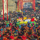 Temple fair. In Shanxi China Royalty Free Stock Photo