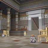 temple faraonów Obrazy Royalty Free