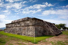 Temple of the Feathered Serpent Stock Images