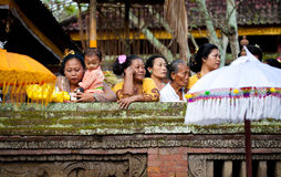 Temple Festival Odalan Royalty Free Stock Photography