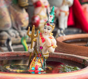 Temple figurine in Thailand Stock Photography