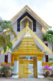 The temple. Filmed in Thailand Taktshang Goemba Stock Photography