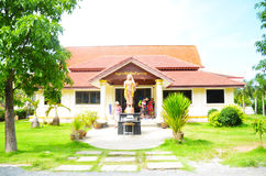 The temple. Filmed in Thailand Taktshang Goemba Stock Photo