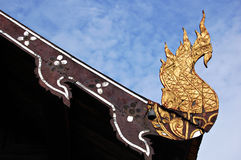 Temple finial Royalty Free Stock Images
