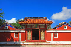 Temple of Five Concubines. Historic Site of Tainan Stock Photo