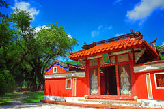Temple of Five Concubines - Historic Site of Tainan Stock Photos