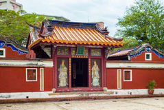 Temple of Five noble ladies. Temple of Five Concubines in Tainan, Taiwan Stock Image