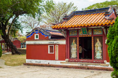 Temple of Five noble ladies. Temple of Five Concubines in Tainan, Taiwan Stock Photography