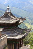 Temple flying roof Royalty Free Stock Photos