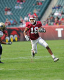 Temple football wide receiver Rod Streater Stock Image