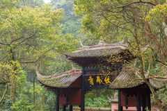 Temple in the forest Stock Photography