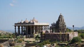 Temple - fort de Kumbhalgarh Image libre de droits