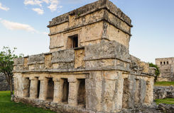 Temple of the Frescos, Yutacan, Mexico Royalty Free Stock Photos