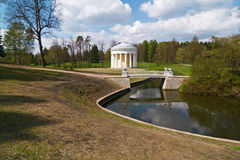 Temple of Friendship. Pavlovsk. Royalty Free Stock Images