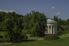 Temple of Friendship. Pavlovsk Stock Image