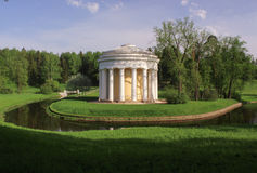 Temple of friendship in Pavlovsk Stock Photography