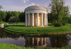 Temple of friendship in Pavlovsk Royalty Free Stock Images