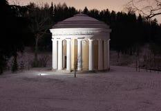 The temple of Friendship in the Pavlovsk Park Foto de archivo libre de regalías