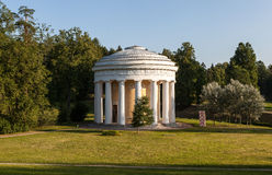 Temple of Friendship in Pavlovsk park. Russia. Royalty Free Stock Image