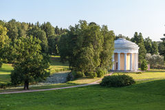 Temple of Friendship in Pavlovsk park. Russia. Royalty Free Stock Photography