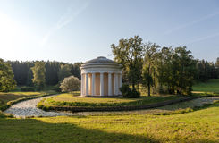 Temple of Friendship in Pavlovsk park. Russia. Royalty Free Stock Photos