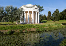 Temple of Friendship in Pavlovsk park. Russia. Royalty Free Stock Photo