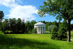 Temple of Friendship in Pavlovsk, Russia Stock Photo