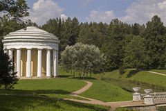 Temple of Friendship. Pavlovsk. St.Peterburg Russia. Royalty Free Stock Photography