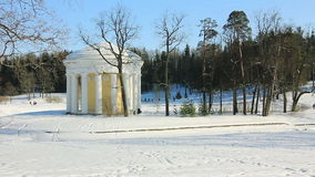 Temple of Friendship in Pavlovsk Royalty Free Stock Photography