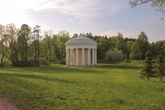 Temple of friendship in Pavlovsk Royalty Free Stock Photo
